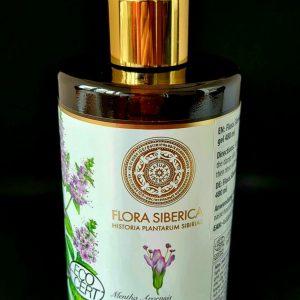 Душ гелът Natura Siberica Flora Siberica Altai Mint е съществена част от ежедневната хигиена. Леко, но пестеливо той почиства кожата на цялото тяло и й придава необходимата хидратация.