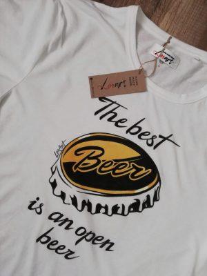 Ръчно рисувана тениска размер L изработена от LORART. Могат да се изработват различни модели и размери при предварителна поръчка.